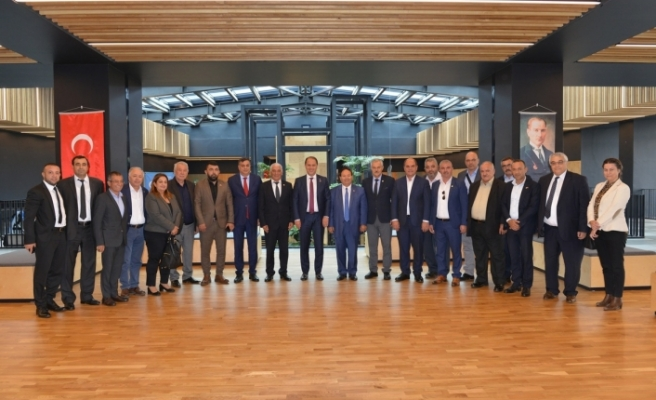 Belediye Başkanlarından İstanbul'da temaslar