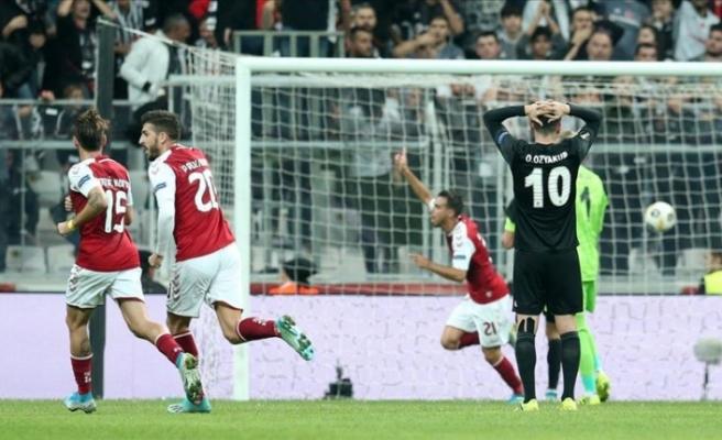 Beşiktaş evinde kaybetti
