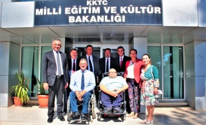 Çavuşoğlu, Engelli Hizmetleri Koordinasyon Kurulunu kabul etti