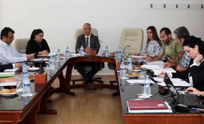 Hukuk ve Siyasi İşler Komitesi toplandı