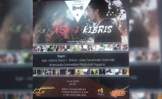 Kıbrıs Genç Tv ekranlarında yayına girecek dizinin galası yapılıyor