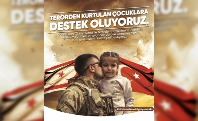 Kıbrıs Vakıflar İdaresi'den destek kampanyası