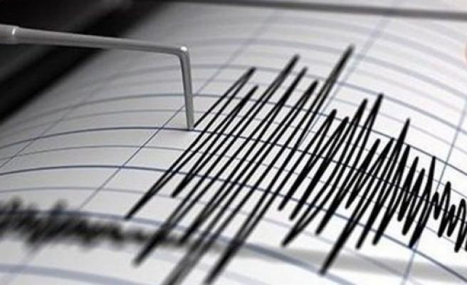 Limasol açıklarında bugün 4,2 büyüklüğünde deprem