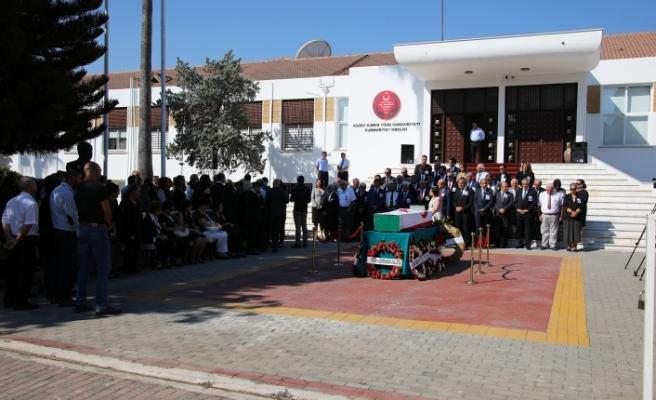 Oktay Feridun için, Cumhuriyet Meclisi'nde tören