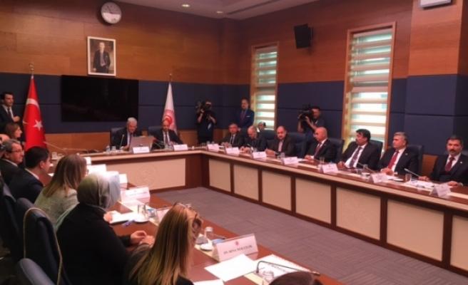 Özersay, TBMM Komisyonu toplantısına katıldı