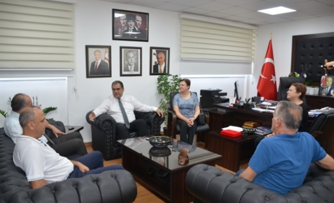 Sucuoğlu, Şehit Aileleri ve Malul Gaziler Derneği'ni kabul etti