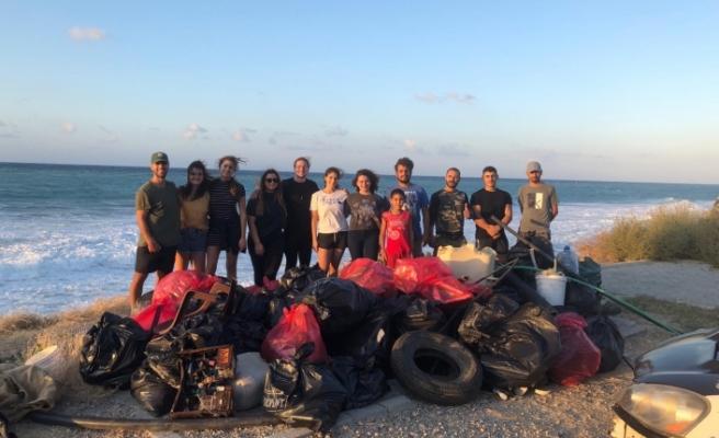 Take Action Cyprus üyeleri Esentepe için kolları sıvadı