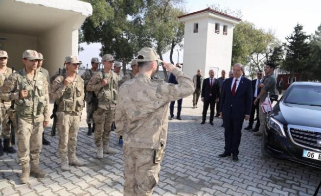 Tatar, Hatay'da sınır karakolunu ziyaret etti