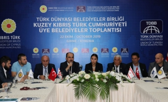 Türk Dünyası Belediyeler Birliği'nden KKTC'de toplantı