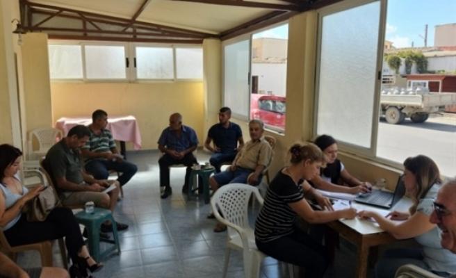Üretici bilgilendirme ve eğitim toplantıları