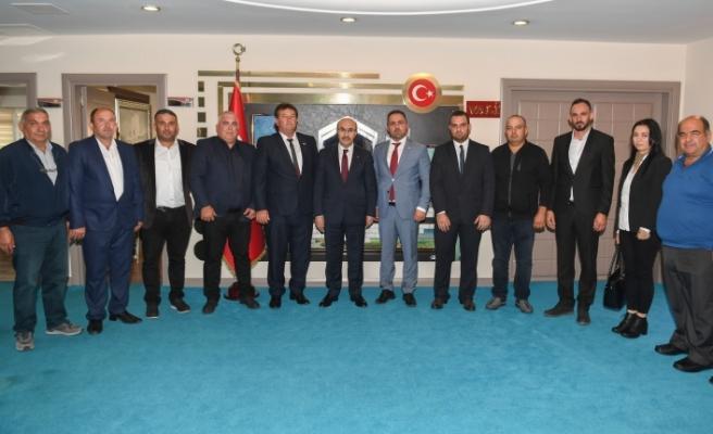 """""""13. Adana Uluslararası Tarım, Hayvancılık, Tavukçuluk ve Süt Endüstrisi Fuarı""""na katıldılar"""