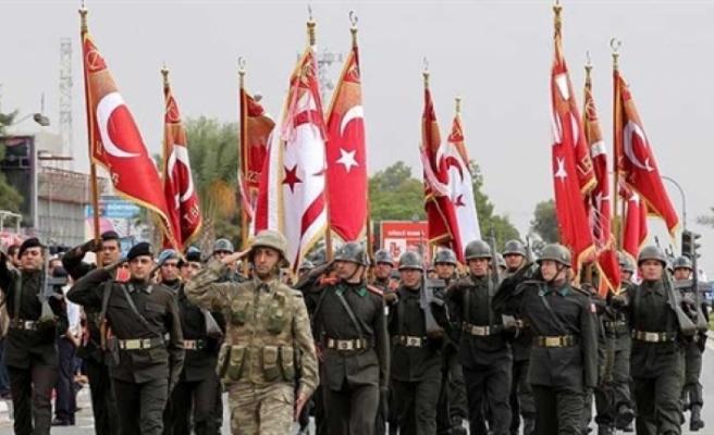 15 Kasım Cumhuriyet Bayramı Resmi Geçit Töreni yapıldı