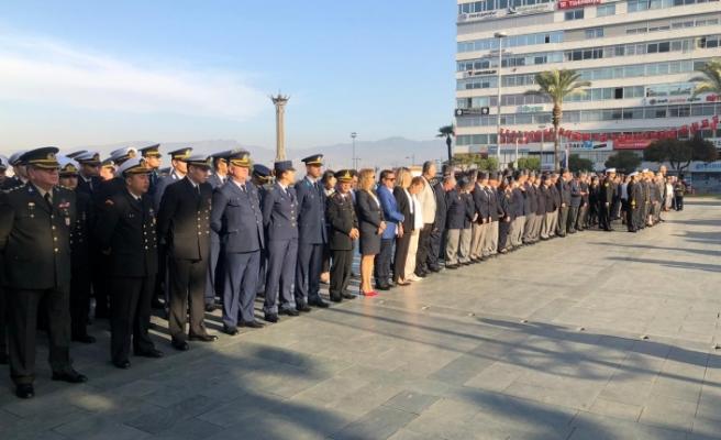 15 Kasım için İzmir'de tören