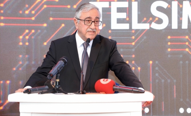 Akıncı, İTÜ Kuzey Kıbrıs-TELSİM Future Lab'ın açılışına katıldı
