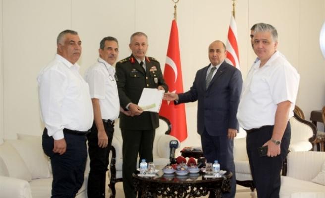 Barış Pınarı Harekatı'na destek amacıyla toplanan yardımlar Başçeri'ye teslim edildi