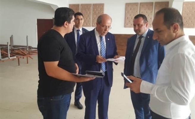 Başbakan Tatar, Kırıkkale SAM'ı ziyaret etti