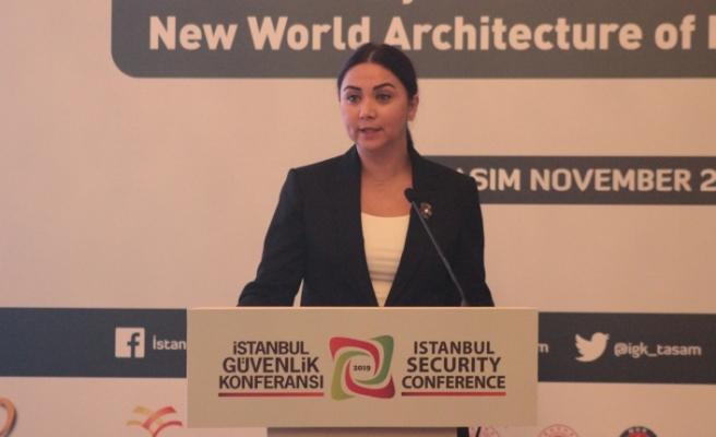 Baybars, İstanbul Güvenlik Konferansı'nda konuştu
