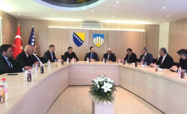 Belediyeler Birliği'nden Bosna Hersek'te temaslar