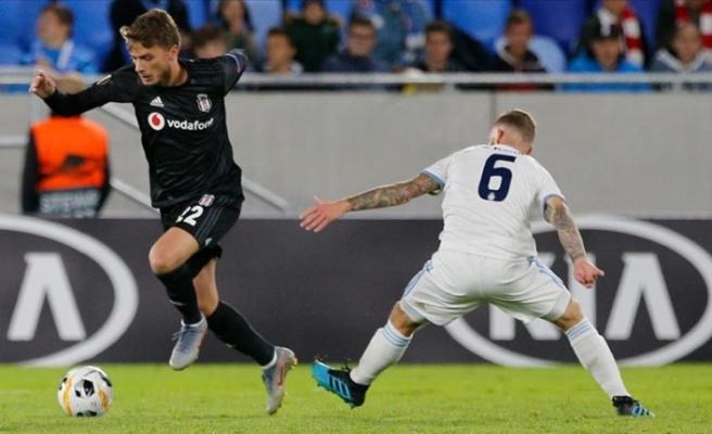Beşiktaş,  yarın Slovan Bratislava'yı konuk edecek