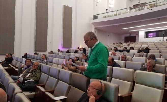 """BKP Genel Sekreteri Sonüstün, """"Avrupa Forumu"""" toplantısına katıldı"""