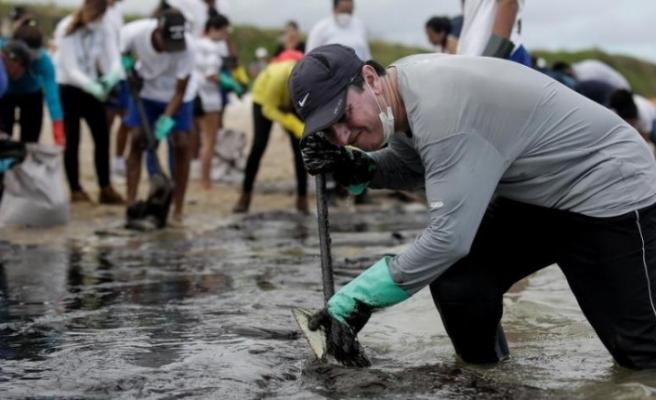 Brezilya'daki petrol sızıntısında yeni gelişme