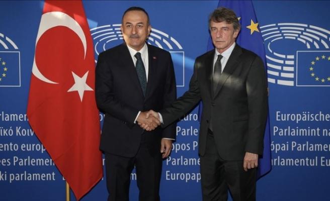 Çavuşoğlu ile AP Başkanı görüşmesi Rum basınında