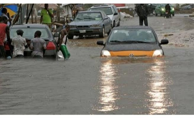 Cibuti'de, iki yıla eşit yağmur bir günde yağdı