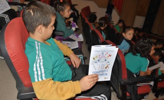 Çocuklar, LBO ile Orkestrayı tanıyor