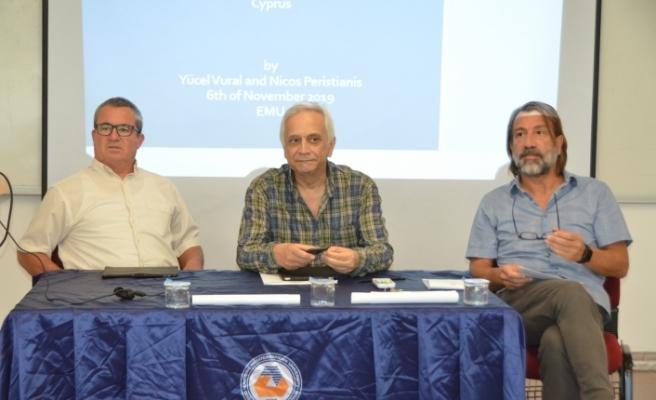 """DAÜ'de """"Birleşik Kıbrıs'ta Federal Hükümet İçin Yarı Başkanlık Sistemi"""" konulu tartışma paneli"""