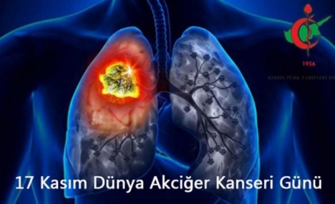 Dünya Akciğer Kanseri Günü nedeniyle açıklama