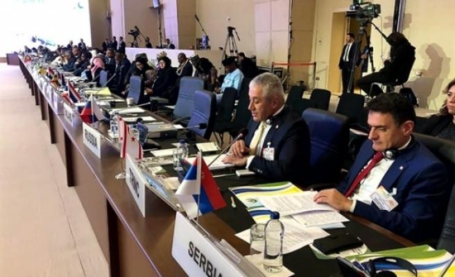 Ekonomi ve Enerji Bakanı Taçoy, İSEDAK toplantısında konuştu