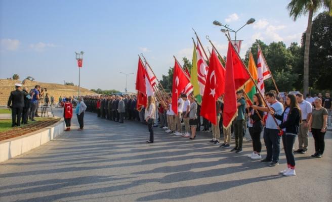 Gazimağusa'da tören
