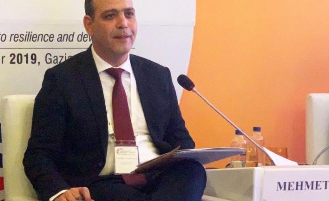 Harmancı, Gaziantep'teki forumda konuşma yaptı