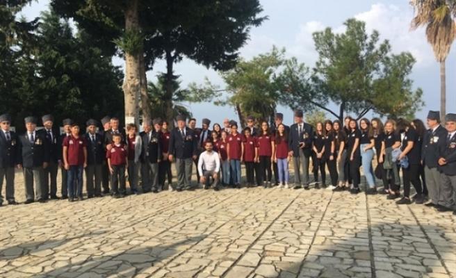 Karadeniz Kültür Derneği, Karaoğlanoğlu Şehitliğini ziyaret etti
