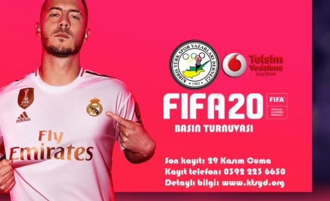 'KTSYD FIFA 2020 Basın Turnuvası' kayıtları sürüyor