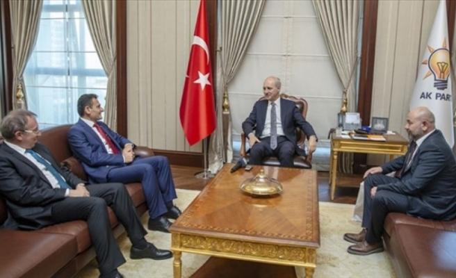 Oğuz, AK Parti Genel Başkanvekili Numan Kurtulmuş'u ziyaret etti