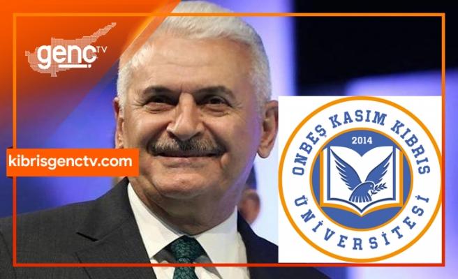 Onbeş Kasım Kıbrıs Üniversitesi'nde açılış heyecanı... Binali Yıldırım yarın açılışı gerçekleştirecek