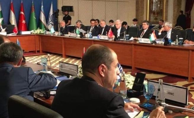 Özersay Ekonomik İşbirliği Teşkilatı toplantısına katıldı