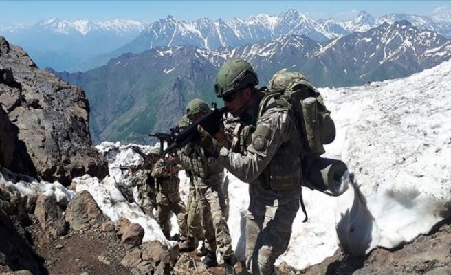Pençe operasyonlarında bugüne kadar 163 terörist etkisiz hale getirildi