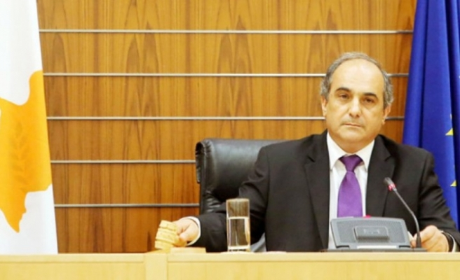 """Rum Meclis Başkanı Şilluris""""in temasları"""