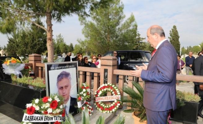 Salih Miroğlu ölümünün 14'üncü yılında kabri başında anıldı