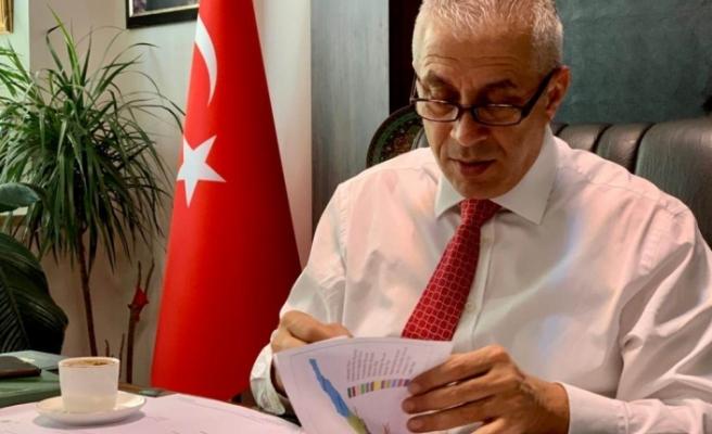 """Taçoy: """"Türkiye ile KKTC arasında bir doğalgaz boru hattı mutlaka olması gerekir"""""""