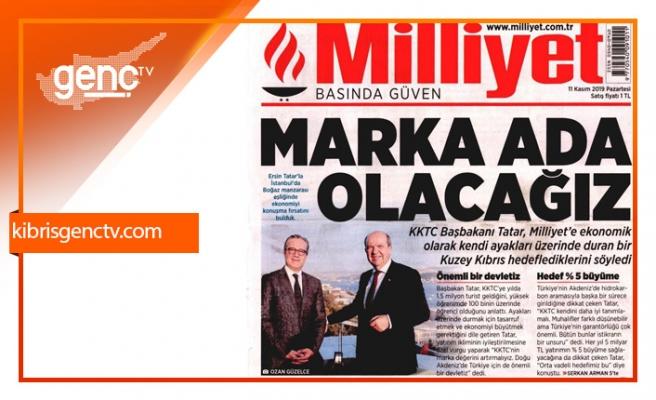 """Tatar: """"Orta vadeli hedefimiz her yıl 5 milyar TL yatırım ve yüzde 5 büyüme"""""""