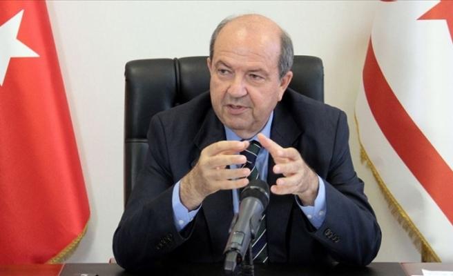 """Tatar: """"Rumların Kıbrıs Türk Halkı'nı mahvedecek ön şartları olduğu, herkes tarafından bilinmeli"""""""