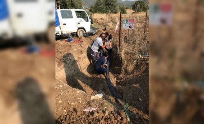 Türkiye'den gelen su, Altınova'ya ulaştı