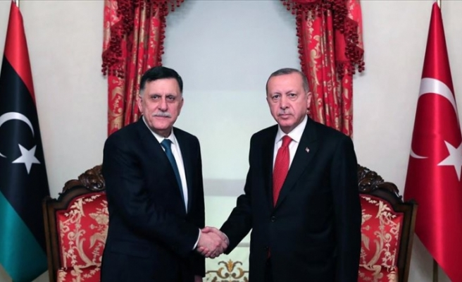 Türkiye ile Libya arasında Deniz Yetki Alanları ile ilgili anlaşma