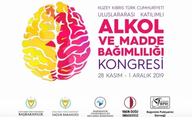Uyuşturucu ile Mücadele Komisyonu ve Yakın Doğu Üniversitesi'nin ev sahipliğinde kongre