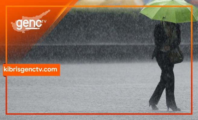 Yarından itibaren yağışlı hava etkili