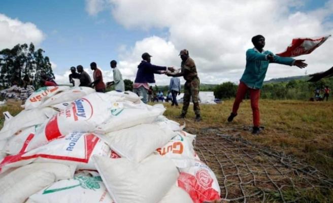 Zimbabve insan eliyle yaratılan açlığın eşiğinde