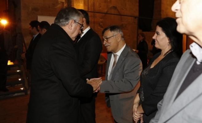 Akıncı, Kıbrıs Türk Mühendis ve Mimar Odaları Birliği'nin 59. kuruluş yıl dönümü resepsiyonuna katıldı